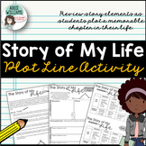 Story of My Life Plot Line - Get to Know You Activity Using Plot Elements