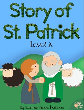 Story of St. Patrick Coloring Book—Level A