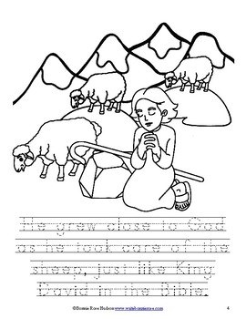 Story of St. Patrick Coloring Book—Level B