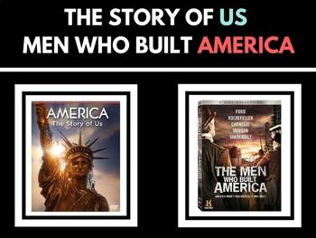 Story of US - Men Who Built US History Channel Bundle