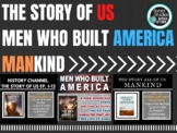 Story of Us -Men Who Built America -Mankind Story of US -History Channel Bundle
