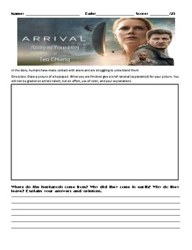 Story of Your Life (Arrival) by Ted Chiang Assignment
