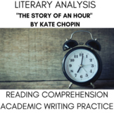 Story of an Hour, Kate Chopin Feminist Short Story w/ Writ