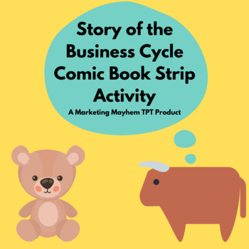Story of the Business Cycle Comic Book Strip