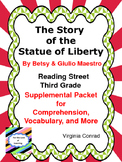 Story of the Statue of Liberty--Supplemental Packet--Reading Street Third Grade