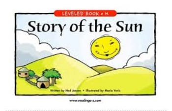 Story of the Sun reading A-Z reading guide (Common Core Aligned)