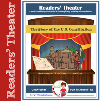 Story of the U.S. Constitution - Readers' Theater Script for Constitution Day