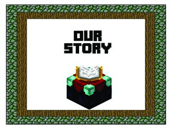 Story of the Week Headings for Reading Street - Minecraft Theme