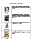 Story of the World - Historical Figure Flash Cards