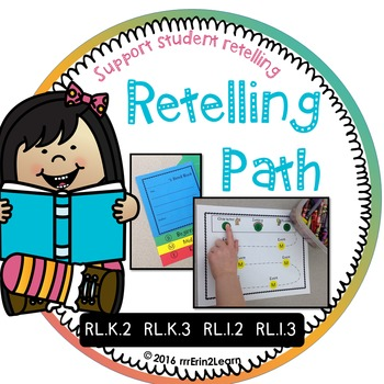 Story retelling comprehension Kindergarten First Grade