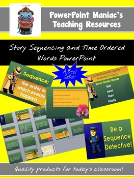 Story Sequencing and Time O... by PowerPoint Maniac | Teachers Pay ...