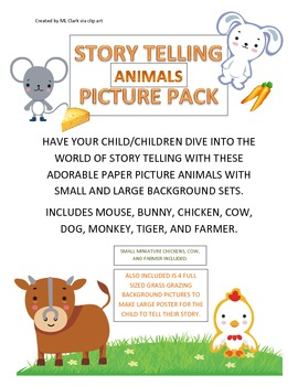 Story-telling Animals Picture Pack