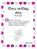 Story writing dice