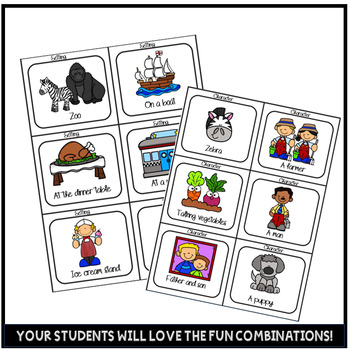 Writing Center Activities Fun Writing Prompts