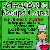 StoryBake Recipe Card - Graphic Organizer for Creative Writing!