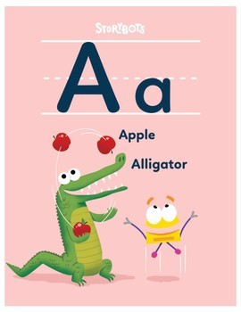 StoryBots Alphabet Poster Set