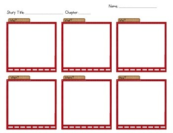 Story/Chapter Organizer for Reading