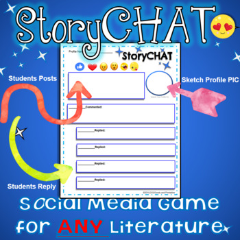 StoryChat: A Social Media Game For Any Literature!