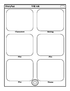 StoryPad Graphic Organizer