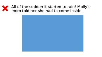 StoryTellers Six Elements of a Story: Rain, Rain Go Away (Spring)