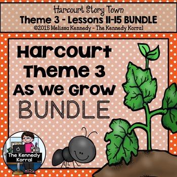 3rd Grade StoryTown BUNDLE {Theme 3}