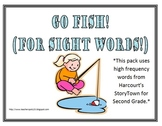 StoryTown Go Fish Second Grade High Frequency Words Game