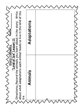 StoryTown Grade 1 Lesson 11 Resources
