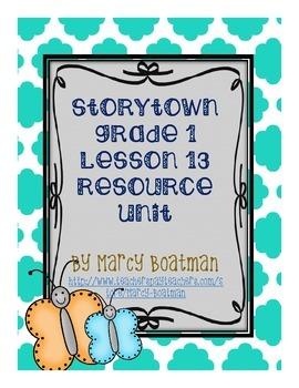 StoryTown Grade 1 Lesson 13 Revised Unit