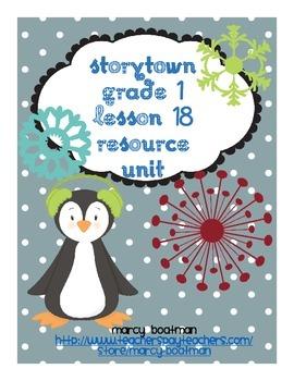 StoryTown Grade 1 Lesson 18 Resource Unit