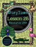 StoryTown Grade 1 Lesson 25 Resource Unit