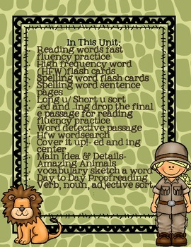 StoryTown Grade 1 Lesson 25 Resource Unit