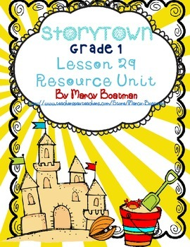 StoryTown Grade 1 Lesson 29 Resource Unit
