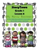 StoryTown Grade 1 Lesson 8 Resource Unit