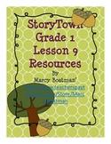 StoryTown Grade 1 Lesson 9 Resource Unit