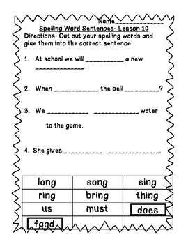 StoryTown Grade 1 Lessons 10-12 Bundled Resource Unit