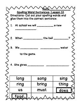 StoryTown Grade 1 Lessons 10-12 Bundled Resource Unit