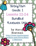 StoryTown Grade 1 Lessons 22-24 Bundled Resource Unit