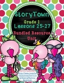 StoryTown Grade 1 Lessons 25-27 Bundled Resource Unit