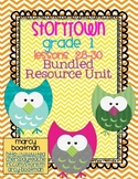 StoryTown Grade 1 Lessons 28-30 Bundled Resource Unit