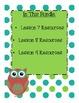 StoryTown Grade 1 Lessons 7-9 Bundled Resource Unit