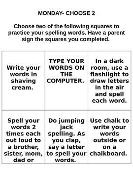 StoryTown Grade 2 Lesson 3 Spelling Practice