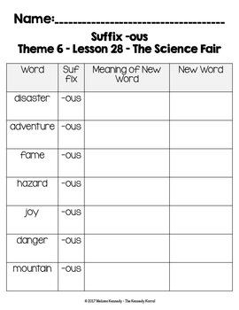 The Science Fair {Lesson 28}