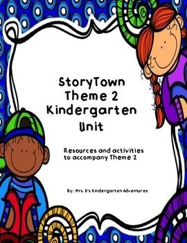 StoryTown Theme 2 Kindergarten Unit
