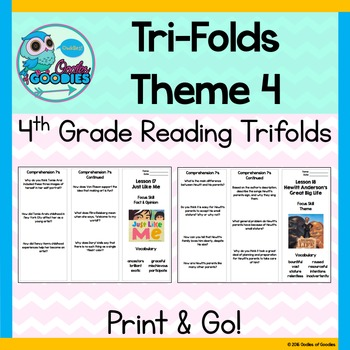 StoryTown Theme 4 - Trifolds (4th Grade)
