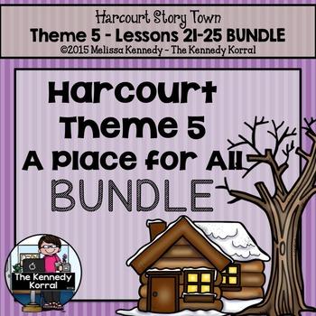 3rd Grade StoryTown BUNDLE Theme 5
