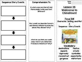StoryTown Theme 5 - Trifolds (4th Grade)