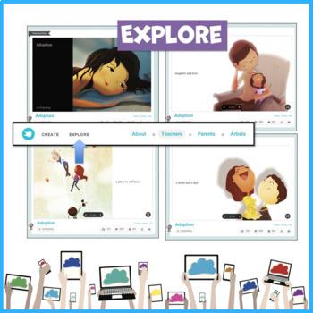 Storybird Literacy Tool Lesson Create Visual Stories