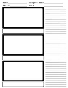 Storyboard 3 panel