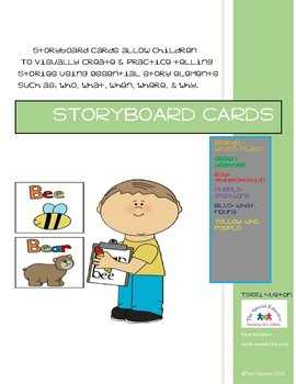 Storyboard Cards for Literacy