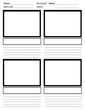 Storyboard FOUR panel